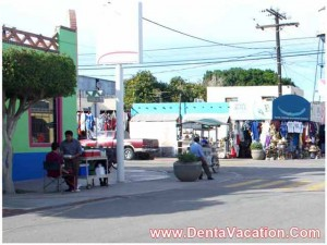 Shopping Area in Los Algodones Mexico