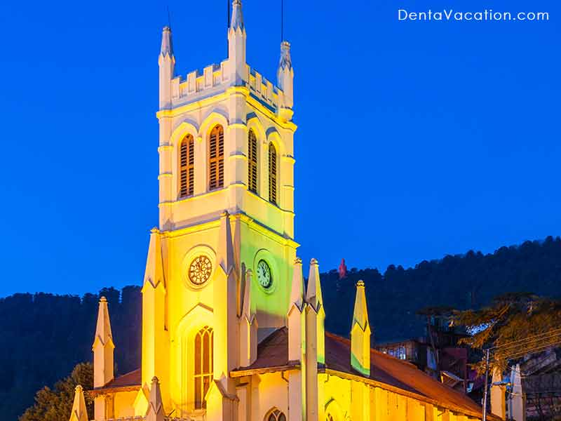 Christ Church, Shimla: The second oldest church in North India.