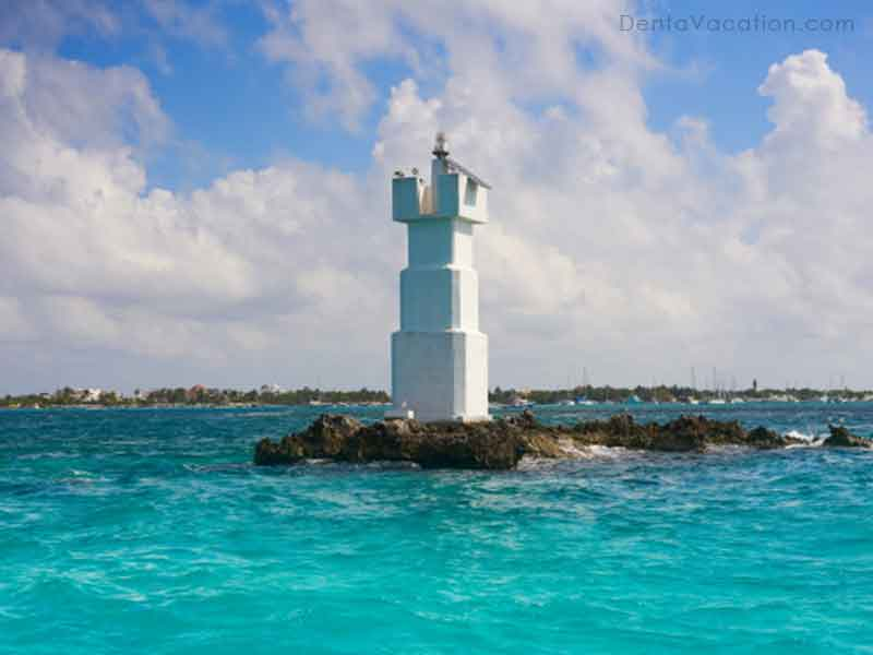 Isla Mujeres Lighthouse Mexico
